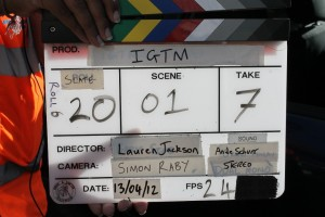 From the set of I'm Going to Mum's (2013)