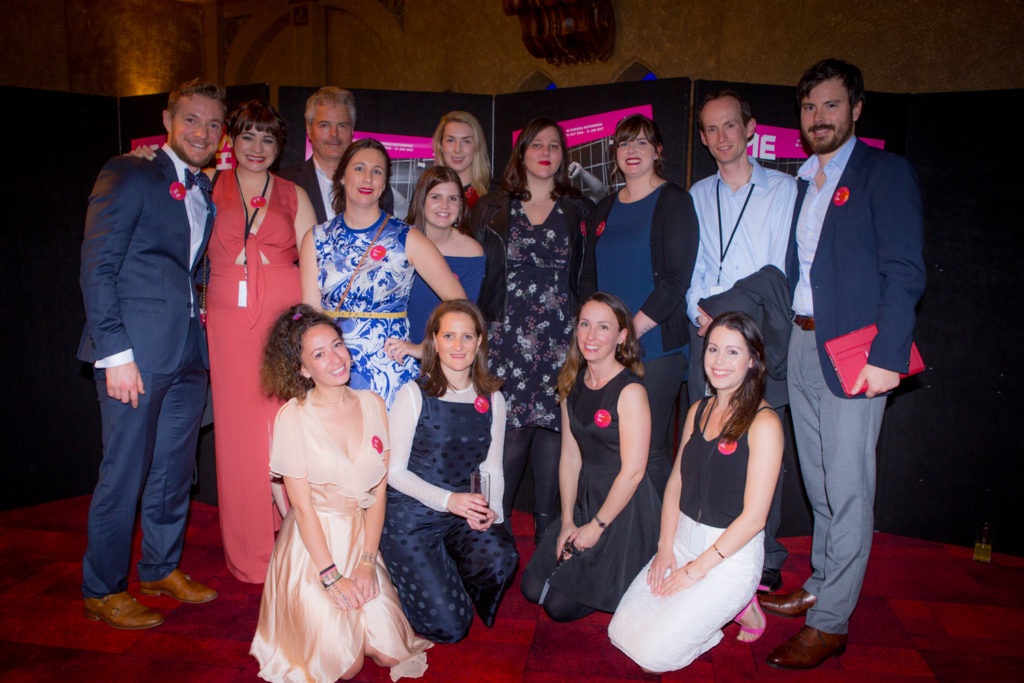 The SMS team at the 2016 Opening Night and Awards Ceremony