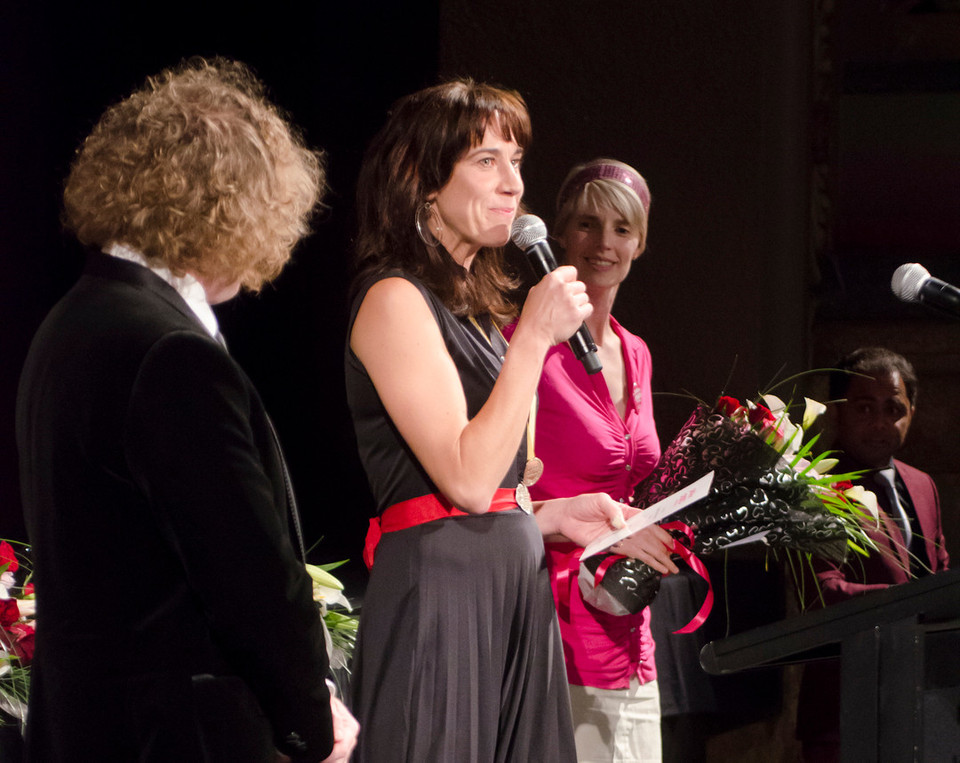Jackie van Beek won the StarNow Best Actor Award for her role in her film Uphill